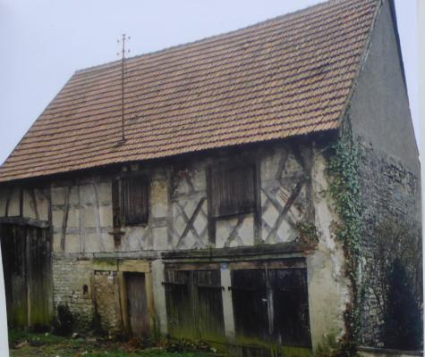 maison fin XXe avant restauration