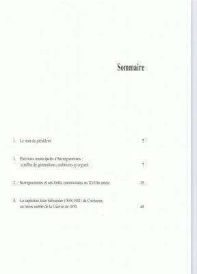 sommaire du n°9